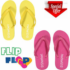 Unisex Summer Beach Sandals Mens Flip Flops Holiday Pool Womens Slippers Sizes