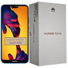 NUOVO Huawei P20 Lite ANE-LX1 64 GB Blu Klein DUAL-SIM Sbloccato Di Fabbrica 4 G SIMFREE