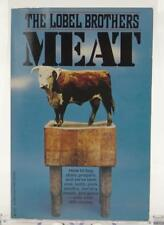 Meat How To Buy Prepare Serve Beef Veal Pork Poultry Game 1971 Lobel Brothers SC