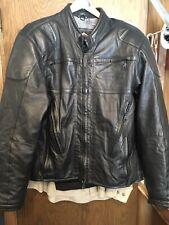 Harley HD Leather FXRG Leather Motorcycle Jacket + Liner + Kidney Belt M Medium
