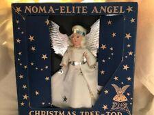 Vintage Noma -Elite Angel Christmas Tree Top-Old Store Stock-Nrfb w/Bonus Angel