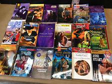 Harlequin Lot of 18  Romance Novels Paperback Books BA Intrigue