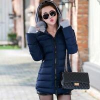 Abrigo caliente de invierno para mujeres ,Warm winter coat for women Mid Long