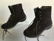 Mephisto Allrounder Brown Suede Winter / Hiking Boots Womens Size 7.5