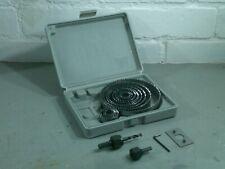 Hole Saw Kit Wood Alloy Circle Round Cutting Cutter Set Lights 19 - 127mm 16pc