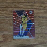 2019-20 Domantas Sabonis Mosaic Red Wave Prizm Holo Indiana Pacers #155