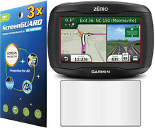 3x Clear LCD Screen Protector Guard Cover Film Garmin Zumo 350 350LM 390 390LM