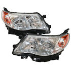 Left and Right Headlight Halogen Set Assembly For 2009-2013 Subaru Forester Bulb