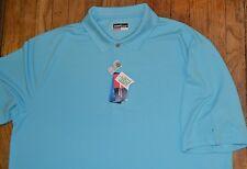 Bluefish Grand Slam Performance Golf Shirt Big & Tall Wicking Upf 50 Msrp $55