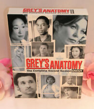 DVD's Greys Anatomy Complete Second Season 2 TV Series Medical Drama Gently Used