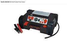 Black & Decker Auto Battery Charger And Jump Start Station