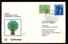 Germany 1963 First Flight Cover, FFC Frankfurt - Las Palmas #C4787