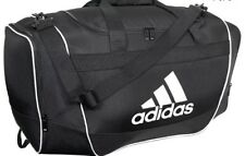 ADIDAS DEFENDER II SMALL DUFFEL BAG BLACK NEW WITH TAGS GYM BAG