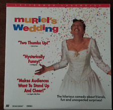 LASERDISC Movie: MURIEL'S WEDDING - Toni Collette, Bill Hunter - Collectible