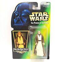 Kenner Star Wars Power Of The Force Ben Obi Wan Kenobi Action Figure 1997