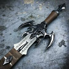 "45"" Kit Rae Exotath Dark Fantasy Medieval Sword Art Metal Cosplay Dragon LOTR"