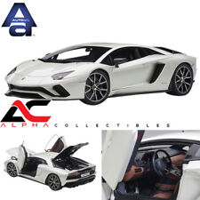 AUTOART 79131 1:18 LAMBORGHINI AVENTADOR S (BALLOON WHITE/PEARL WHITE)