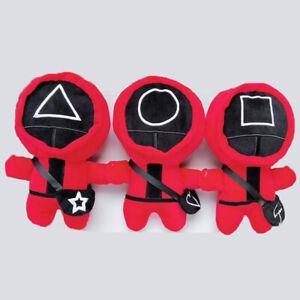 w/Messenger bag Squid Game Plush Toys Doll 23Cm High Kids Xmas Gift