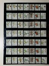 MALAYSIA (14 STATES) 1986 AGRO BASED PRODUCTS USED STAMPS