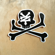 Zoo York vinyl sticker skateboard EAST NYC skull bones bumper laptop ZY dead SK8