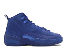 Nike Air Jordan 12 XII Retro BG SZ 3.5Y Deep Royal Blue White OG GS 153265-400