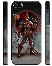 Iphone 4 4s 5 6 6S 7 8 X XS Max XR 11 Pro Plus Hard Case Deadpool Hero Comics 4
