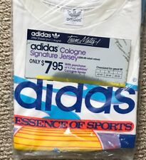 Vintage Essence Of Sports Adidas Shirt 1980s New In Packaging Size L