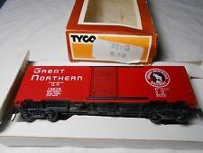 Ho Train *Rare* Vintage Tyco 40' Steel Boxcar Great Northern Kadee Couplers!