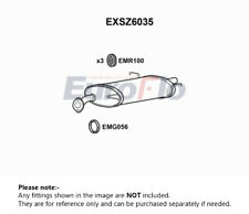 Exhaust Back / Rear Box fits SUZUKI SWIFT RS 415 1.5 05 to 11 M15A EuroFlo New