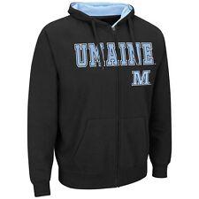 $55) Maine Black Bears HOODIE/HOODED Jersey Sweatshirt Adult MENS/MEN'S m-medium