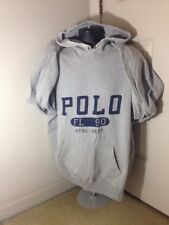 Vintage 90s Polo Ralph Lauren FL 90 Athletic Department Hoodie Gray - Size XL