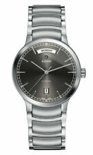 Rado Centrix Automatic Day-Date Gray Dial Stainless Steel Mens Watch R30156103