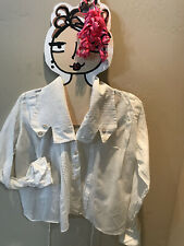 New listing Gorgeous Edwardian Lawn Blouse With Interesting Collar And Cuffs