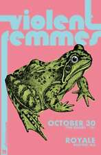 VIOLENT FEMMES 2018 BOSTON CONCERT TOUR POSTER - Folk Punk Music Legends!