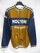 Maillot cycliste MOLTENI CAMPAGNOLO vintage MERCKX shirt jersey trikot L/S 5 XL