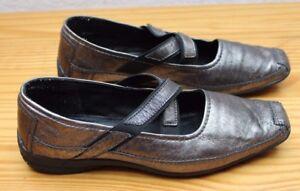 Bonita Damen Schuhe Silver -Gr. 41-.