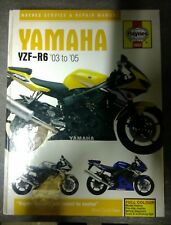 Haynes owners workshop manual - Yamaha YZF R6 2003-2005  - Hardback version