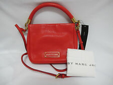 NWT Mac by Marc Jacobs Red Logo Removable Strap Mini Crossbody/Purse *FREE SHIP