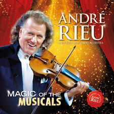 ANDRE RIEU MAGIC OF THE MUSICALS CD NEW