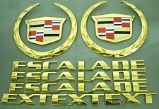2002-2006 CADILLAC ESCALADE EXT GOLD PLATED EMBLEM KIT