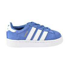 Adidas Campus EL Toddler's Shoes Trace Royal-White CQ3123