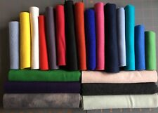 FELTED WOOL FABRIC PIECES by MODA ETC  APPLIQUE RUGS FIBER ARTS CRAFT 1/2 LB LOT