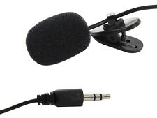 Clip Speech Krawattenmikrofon Mikrofon 3.5mm für PC