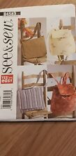 BUTTERICK SEE & SEW 4583 UTILITY BAGS *EASY*