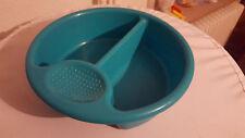 Rotho Baby Waschbecken Waschschüssel Schüssel rund Durchm. 30 cm türkis grün
