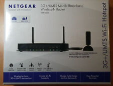 Router Netgear MBRN3000-100PES 3G+ (4 puertos Ethernet, WiFi N300) - NUEVO