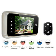 """3.5"""" LCD Digital Peephole 120° Door Doorbell Eye Viewer Video IR Camera Security"""