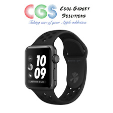 Apple Watch Nike+ Series 3 38mm Space Grey Case Anthracite/Black Sport Band GPS