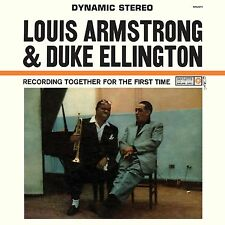 Louis Armstrong & Duke Ellington Together for the First Time NEW SEALED 180g LP