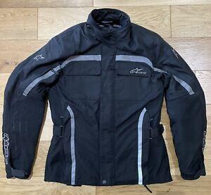 Alpinestars Gore-Tex Tech-Touring Black Motorcycle Jacket Size M
